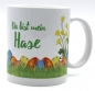 "Mobile Preview: Tasse ""Du bist mein Hase"""