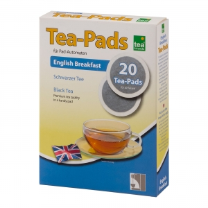 Teepads Schwarztee English Breakfast, 20x 2g