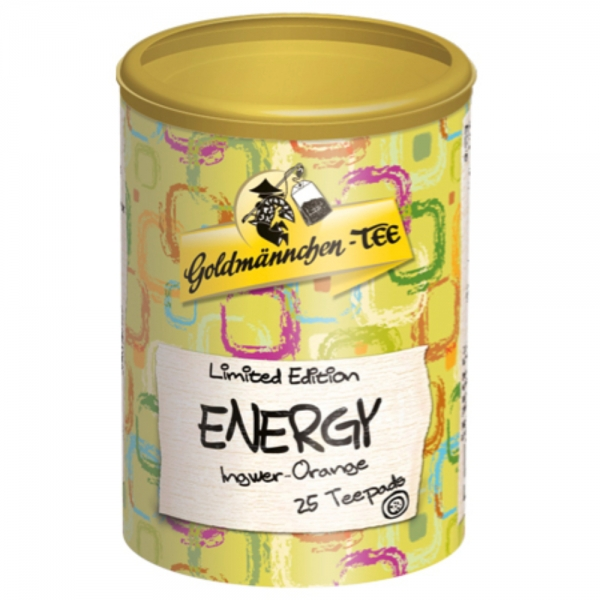 "Goldmännchen Teepads ""Energy"" Ingwer-Orange, 25x 2g"